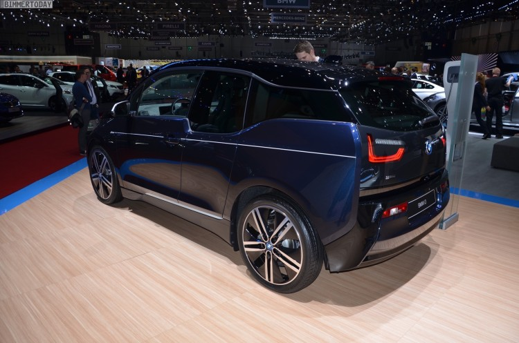 BMW i3 MR PORTER Design Limited Edition 2016 Genf Autosalon Live 09 750x497