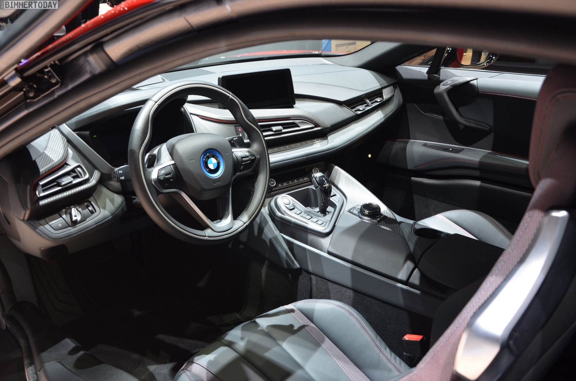 2016 Geneva Motor Show Bmw I8 Protonic Red Edition Makes World Debut