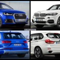 Bild Vergleich BMW X5 M50d F15 Audi SQ7 TDI Diesel SUV 2016 02 120x120