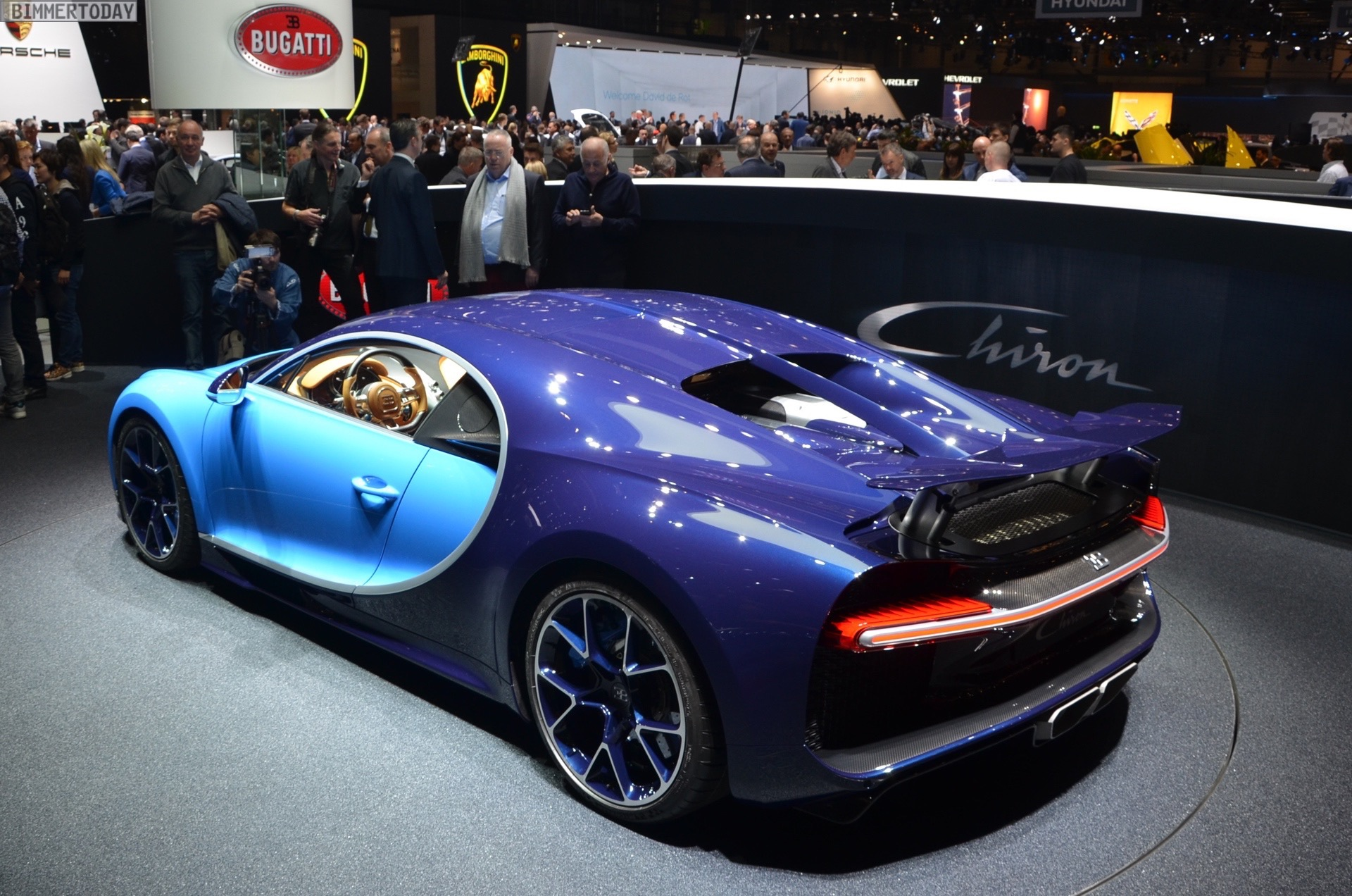 Bugatti Chiron With 1500 Horsepower