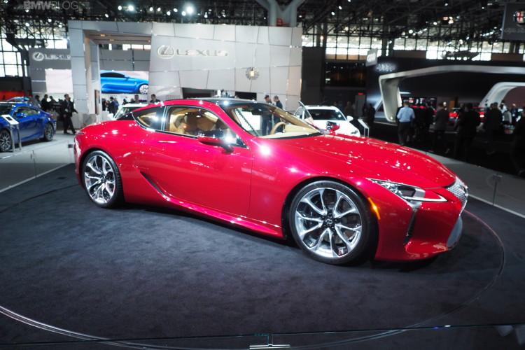 Lexus LC 500 images 1 750x500