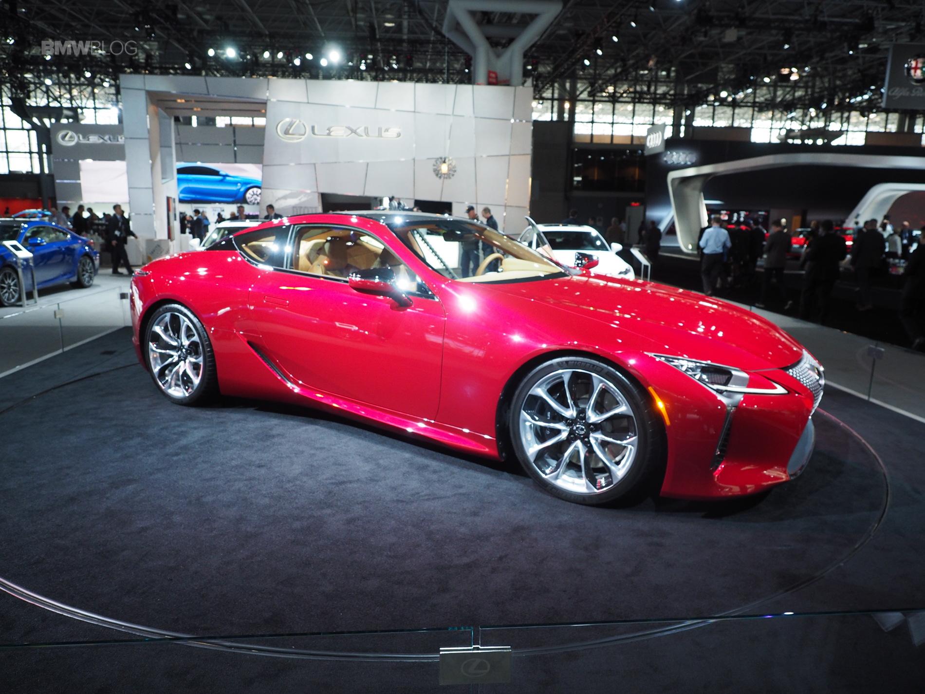 Lexus LC 500 images 1