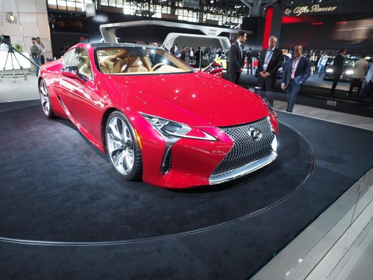Lexus LC 500 images 22 750x563