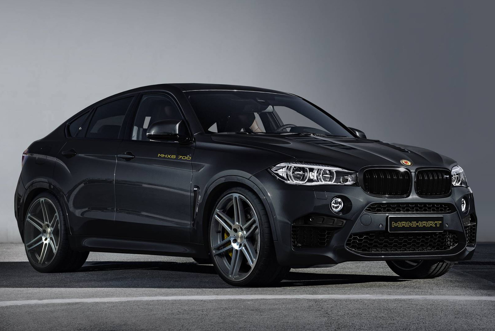 "Mini Cooper Models >> Manhart BMW X6M ""MHX6 700"" with 700 horsepower"