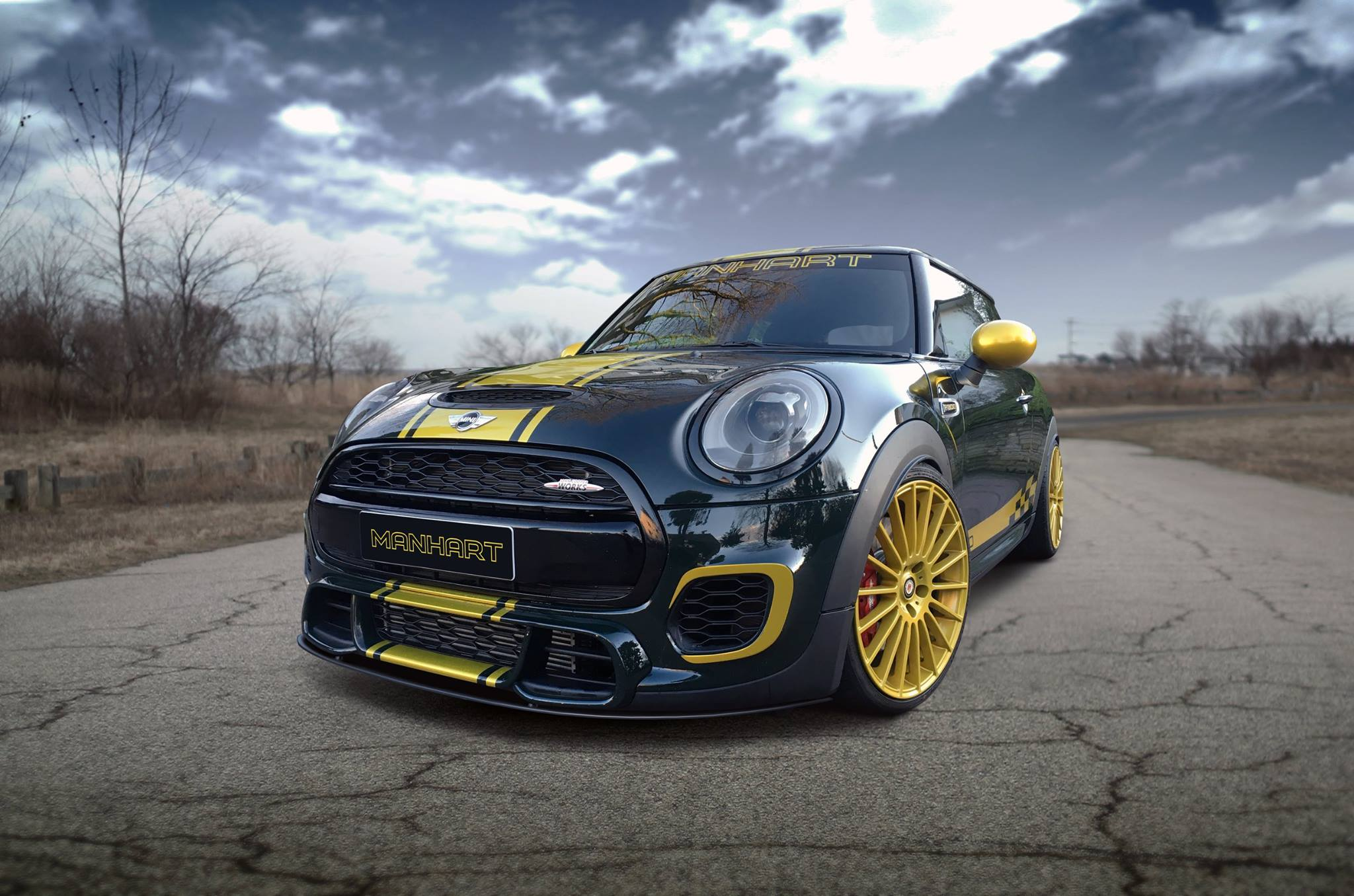 Manhart MINI John Cooper Works F56 Tuning JCW 01