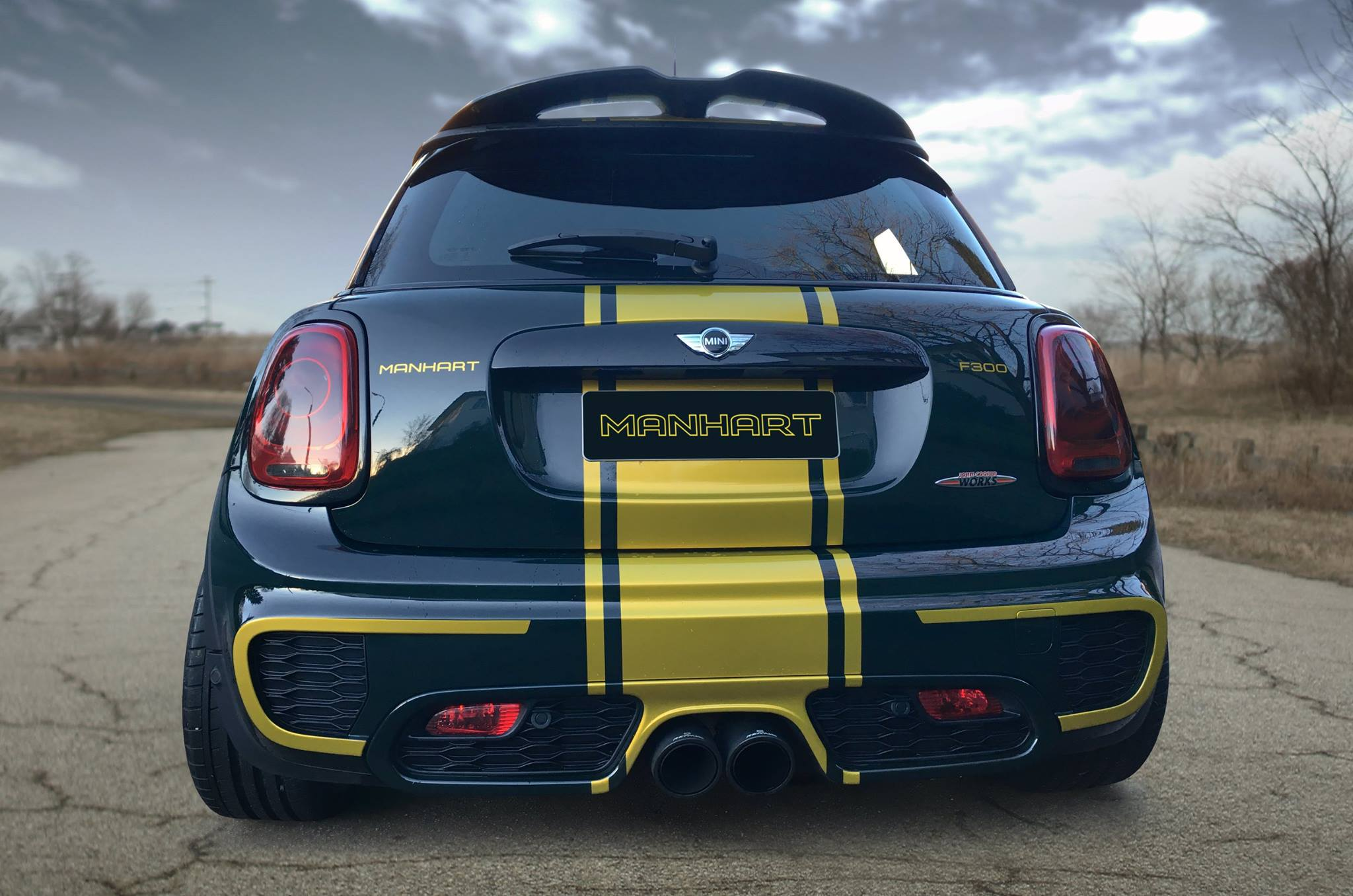 Manhart Mini John Cooper Works Tuning With 300 Horsepower