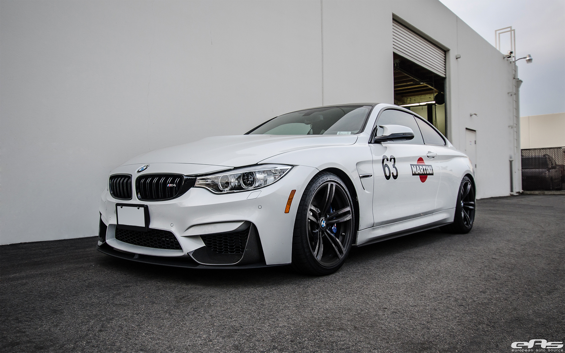 Quite The Package Mineral White Bmw M4 Gets Modded