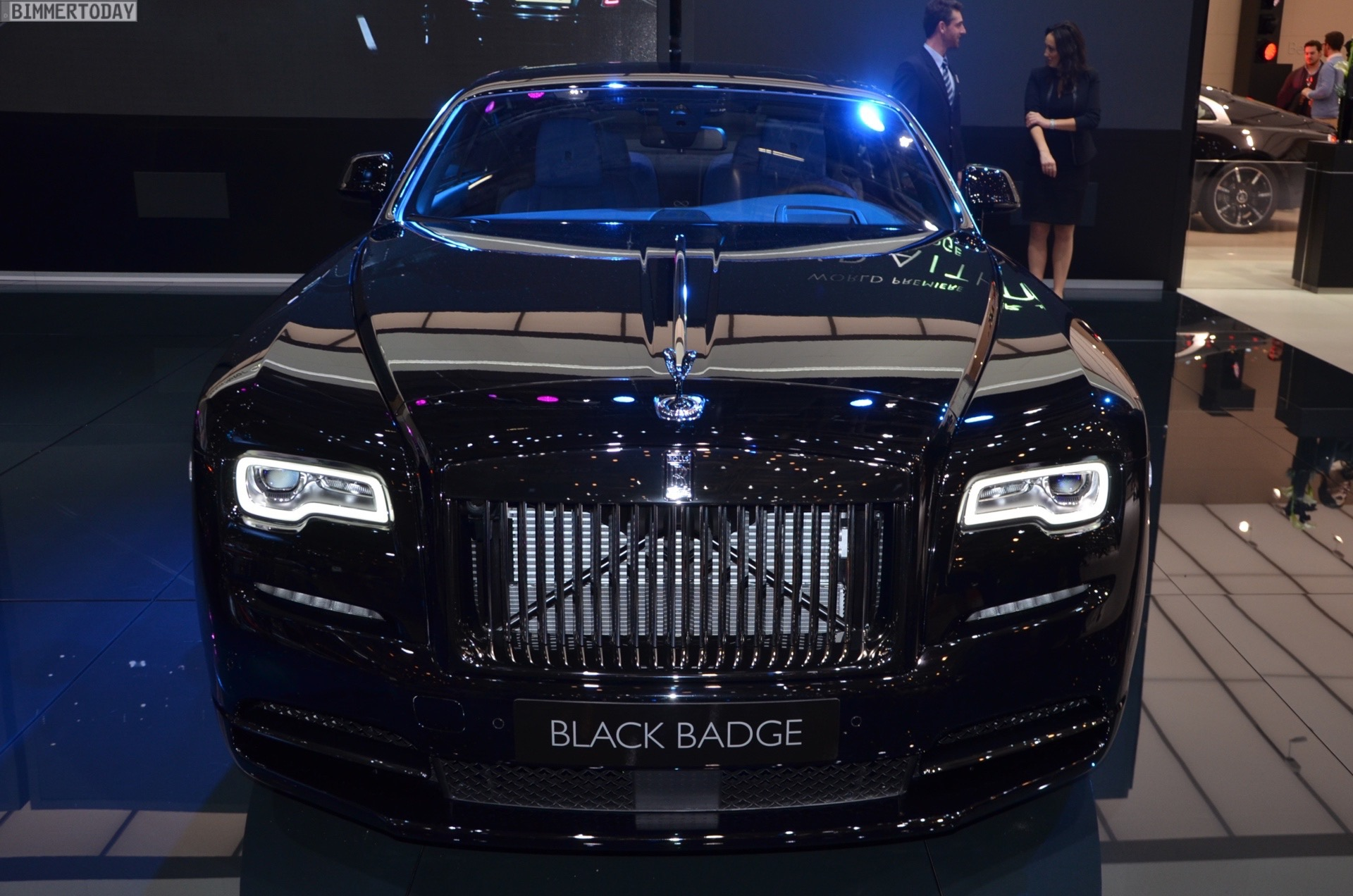 Rolls Royce Handed Over A Wraith Black Badge To The First Female Owner