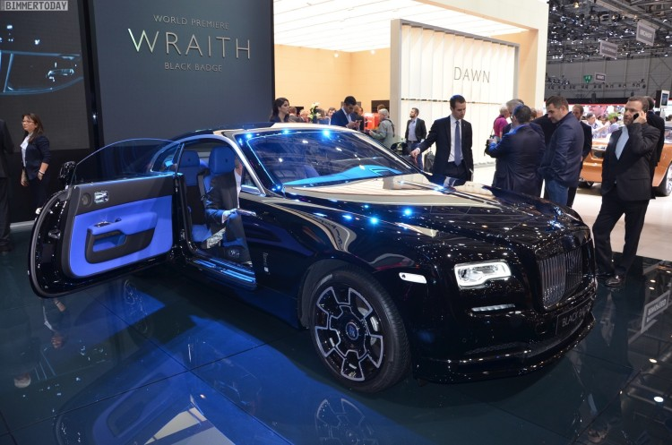Rolls Royce Wraith Black Badge 2016 Genf Autosalon Live 06 750x497
