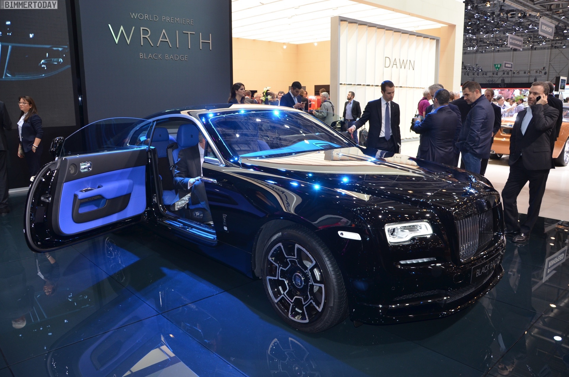 Rolls Royce Debuts Black Badge Series Wraith And Ghost