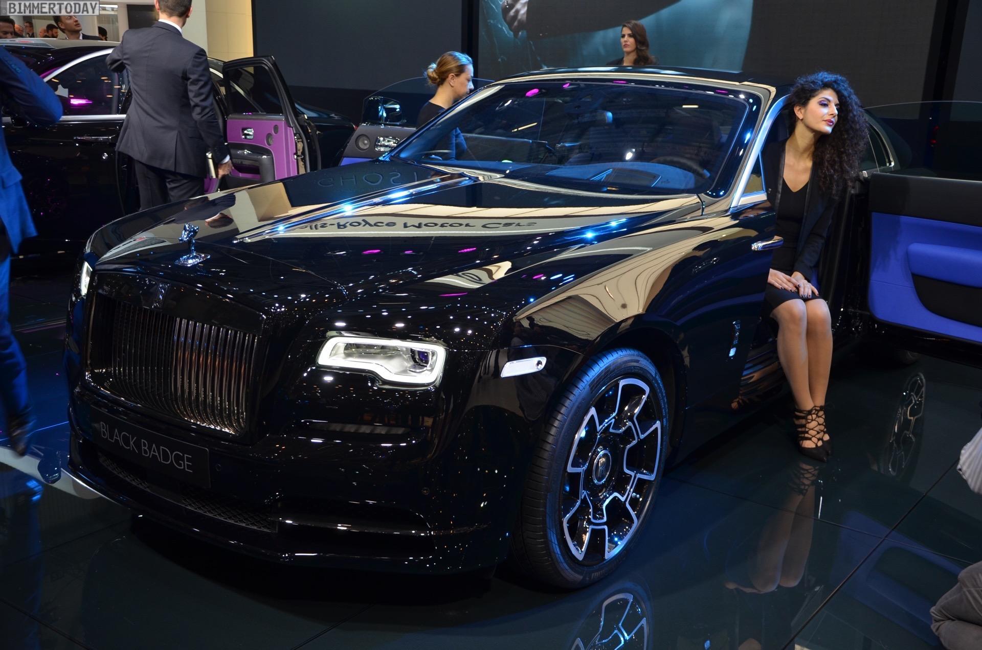 Rolls Royce Wraith Black Badge 2016 Genf Autosalon Live 12