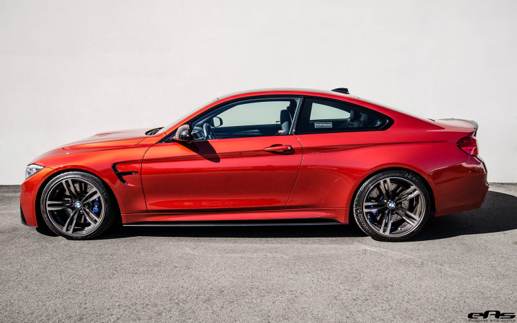 Sakhir Orange BMW M4 With M Performance Goodies 1 750x469