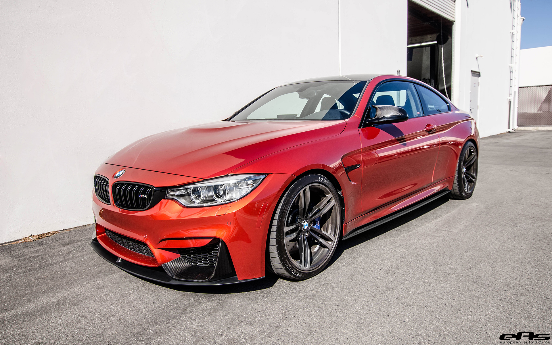 Sakhir Orange BMW M4 With M Performance Goodies 2