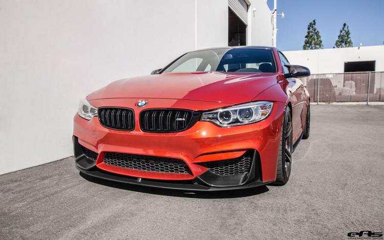 Sakhir Orange BMW M4 With M Performance Goodies