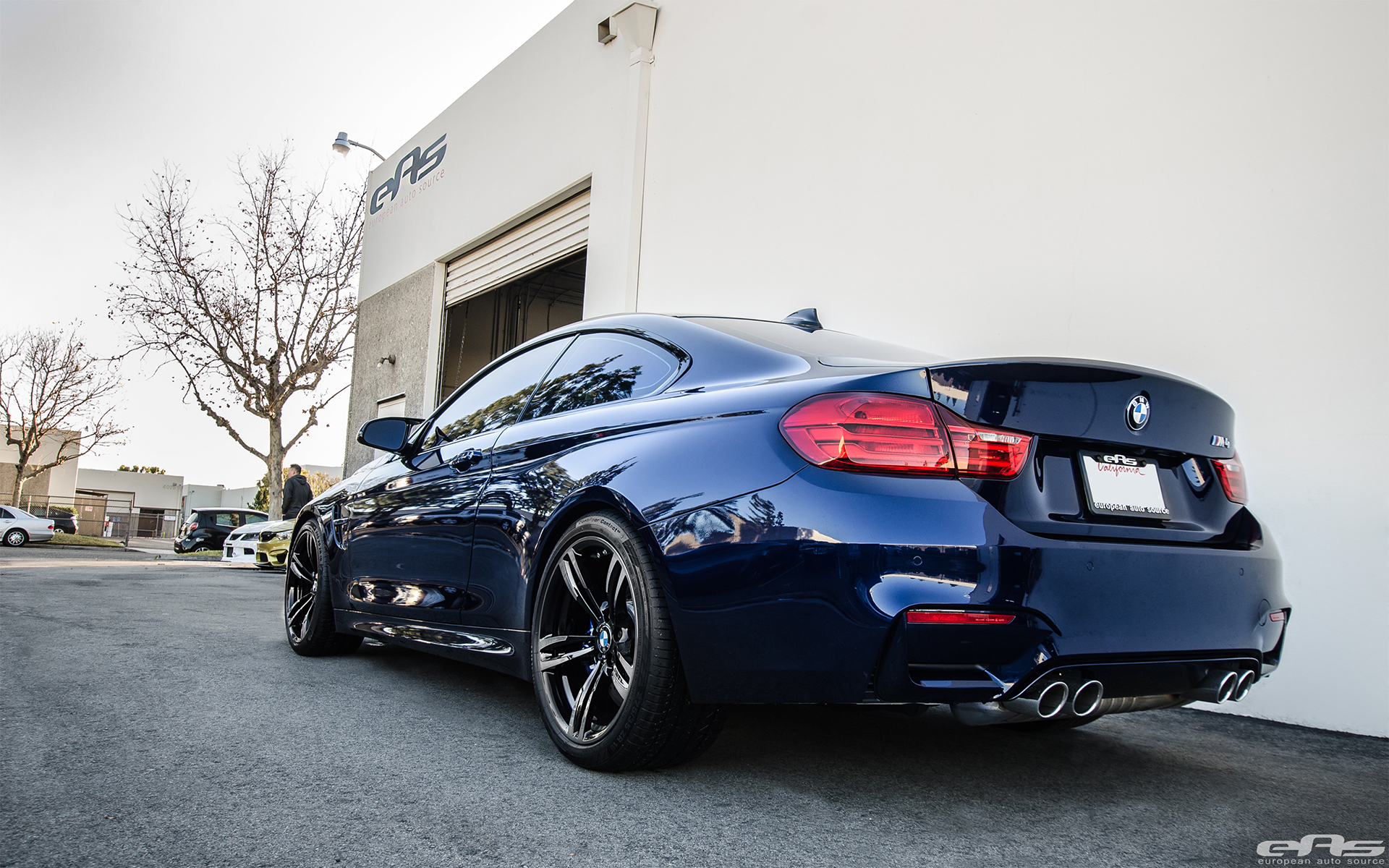 Tanzanite Blue Metallic Bmw F82 M4 Gets A Few Upgrades