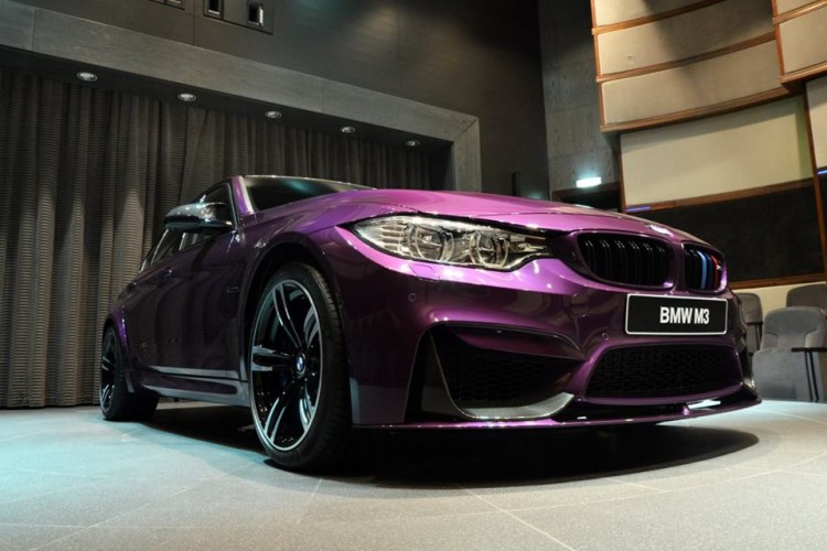 Twilight Purple BMW M3 5 750x500