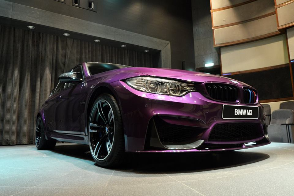 This Twilight Purple Bmw M3 Looks Really Cool