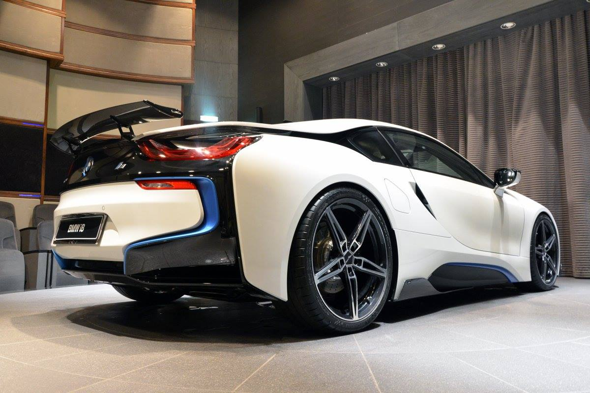 Ac Schnitzer Gives The Bmw I8 A Racing Look
