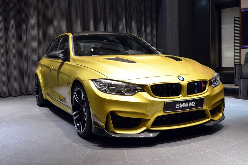 Custom Austin Yellow Bmw M3 Delivered In Abu Dhabi