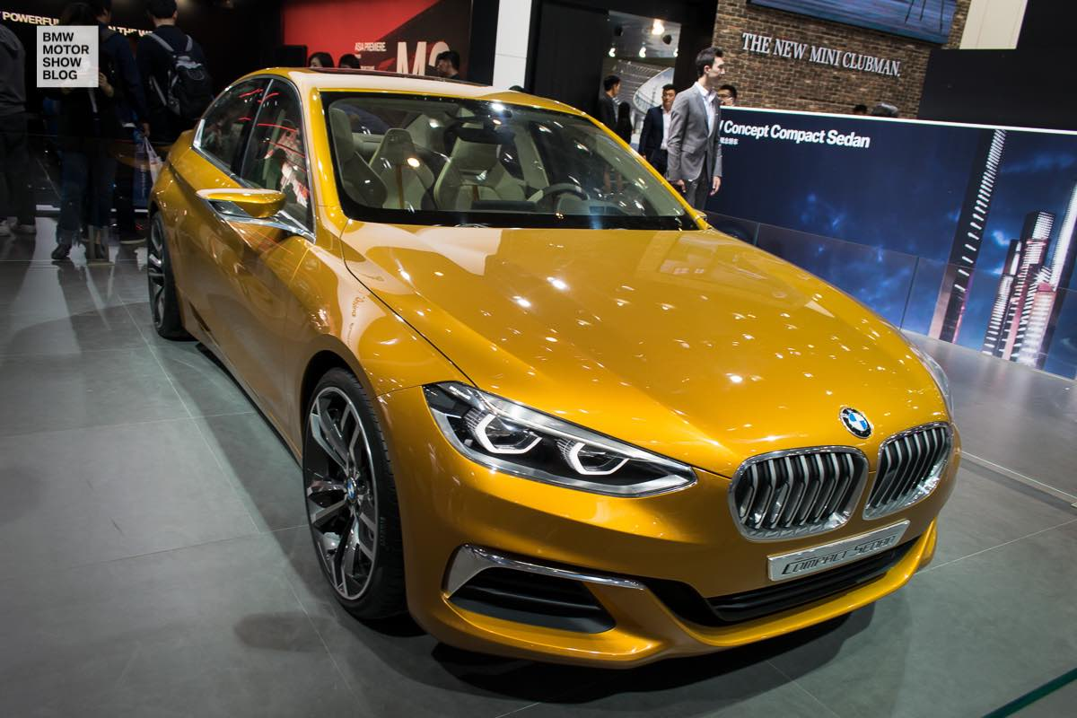 Bmw F52 1 Series Sedan In Sunglow Metallic Debuts In Beijing