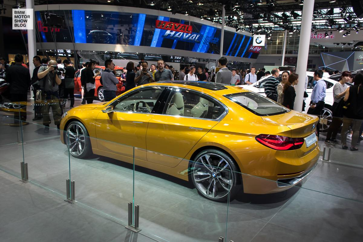 Bmw F52 1 Series Sedan In Sunglow Metallic Debuts In Beijing