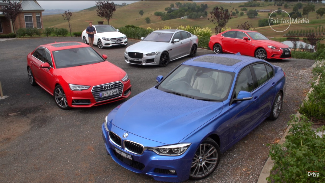VIDEO: BMW 330i vs New Competition