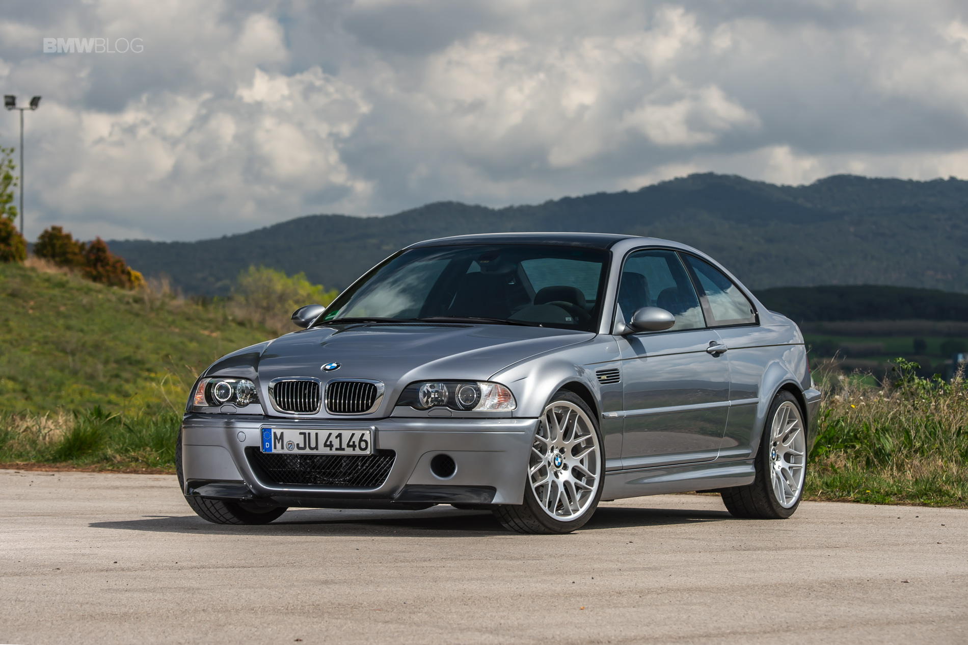 Video Lucky Bmw E46 M3 Csl Owner Picks Up Car