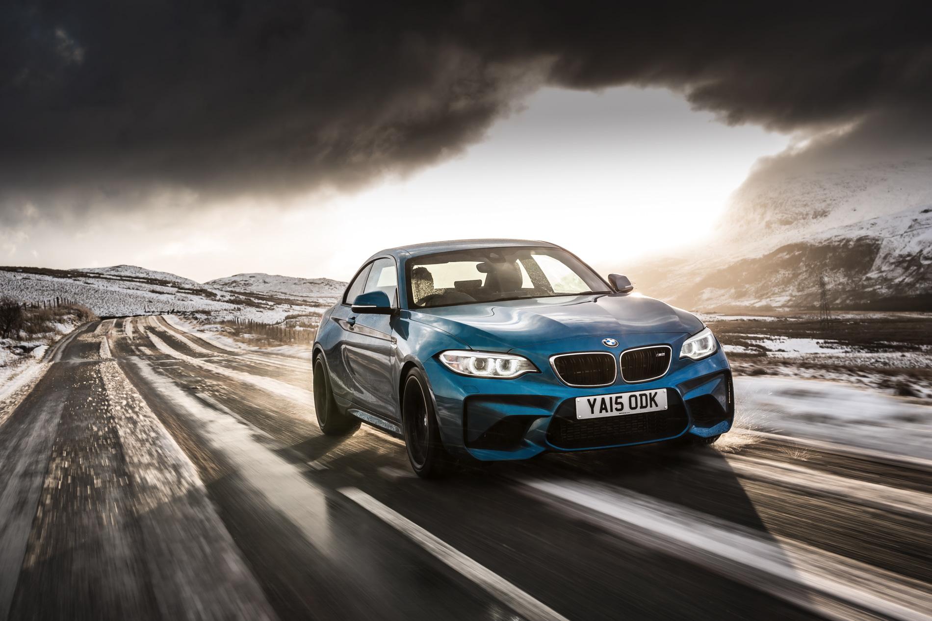 BMW M2 UK launch exterior 1