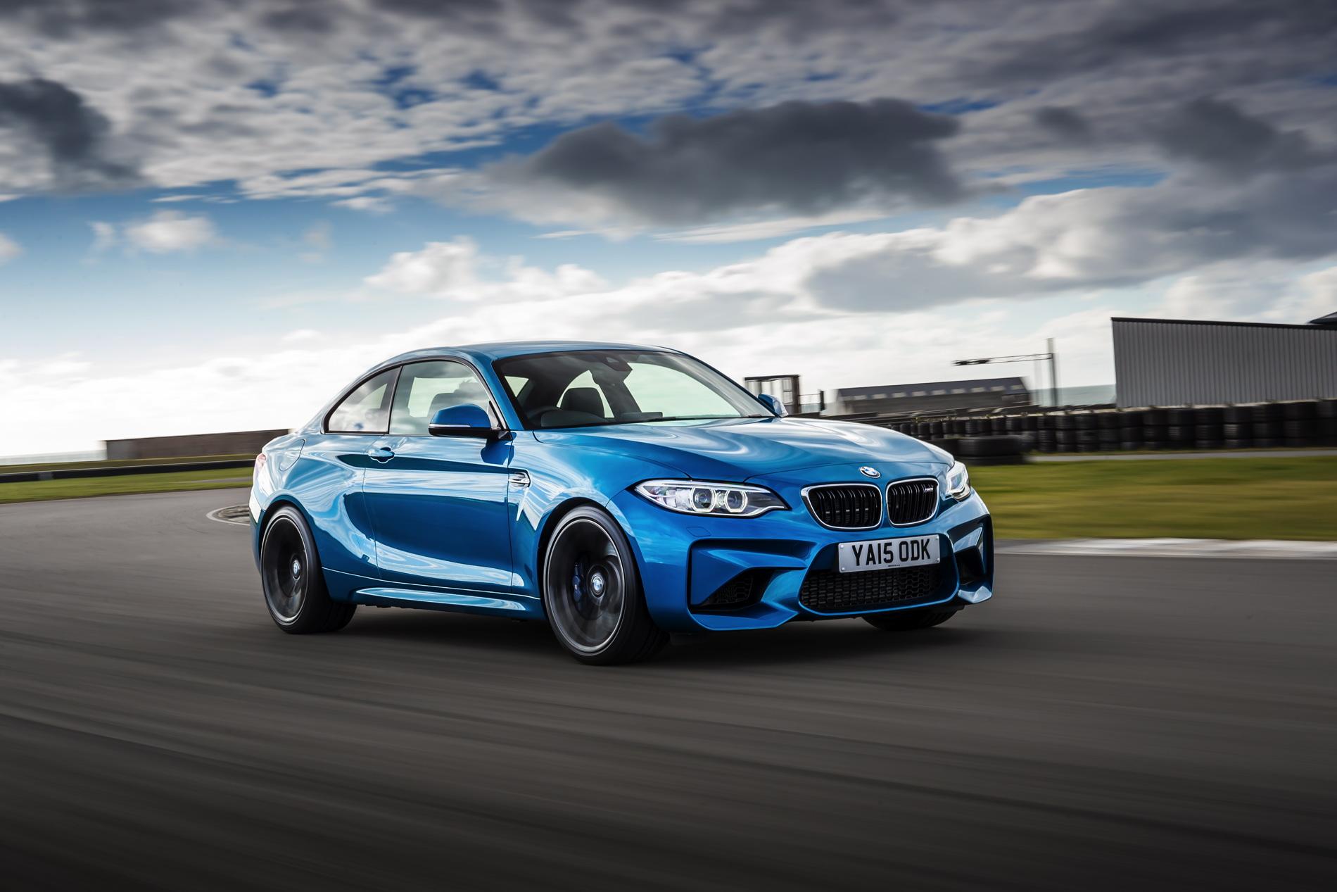 BMW M2 UK launch exterior 14