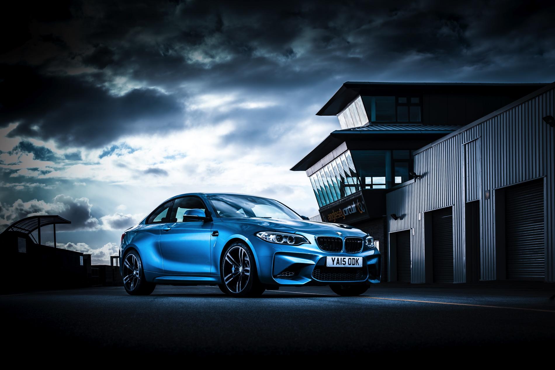 BMW M2 UK launch exterior 25