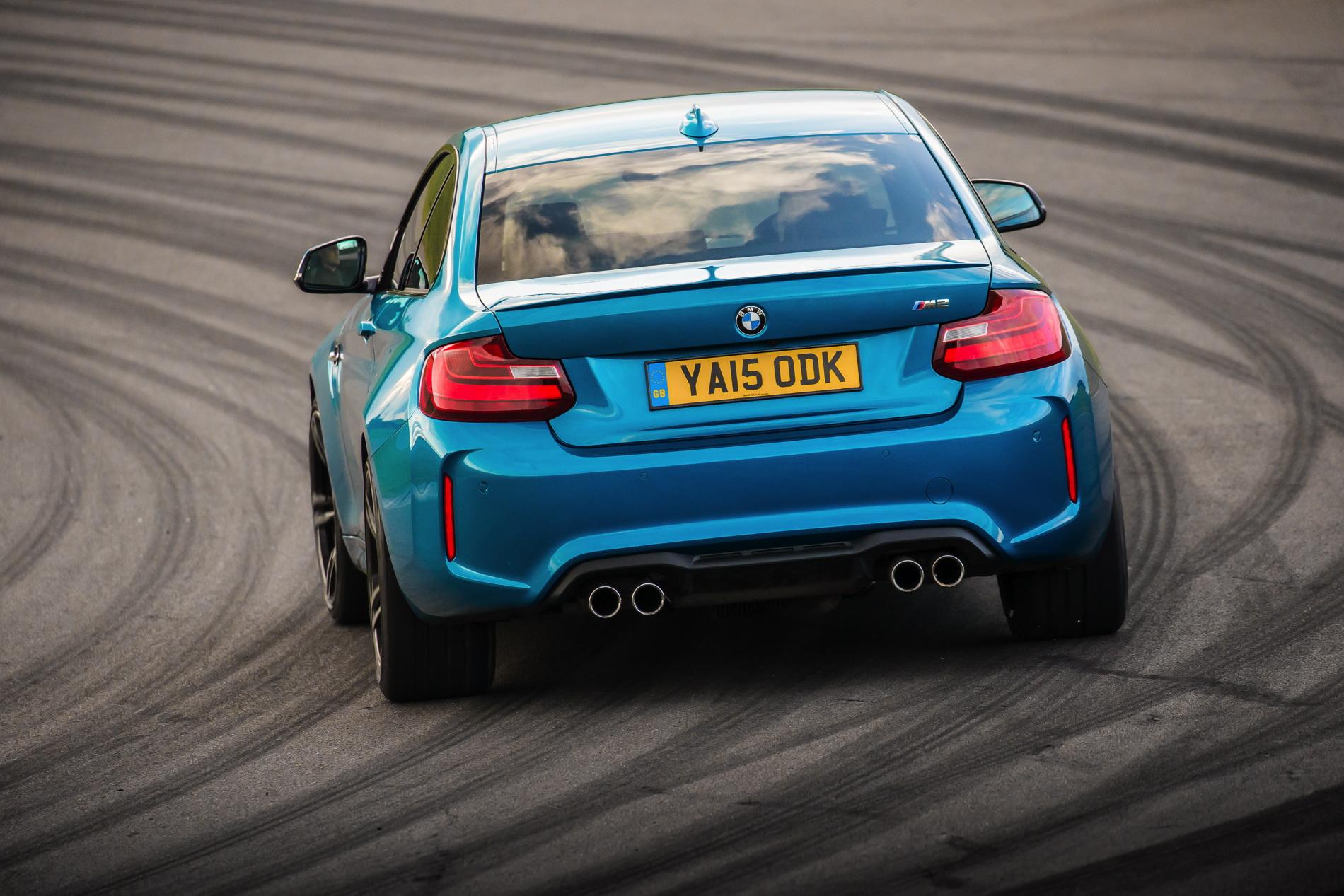 BMW M2 UK launch exterior 27