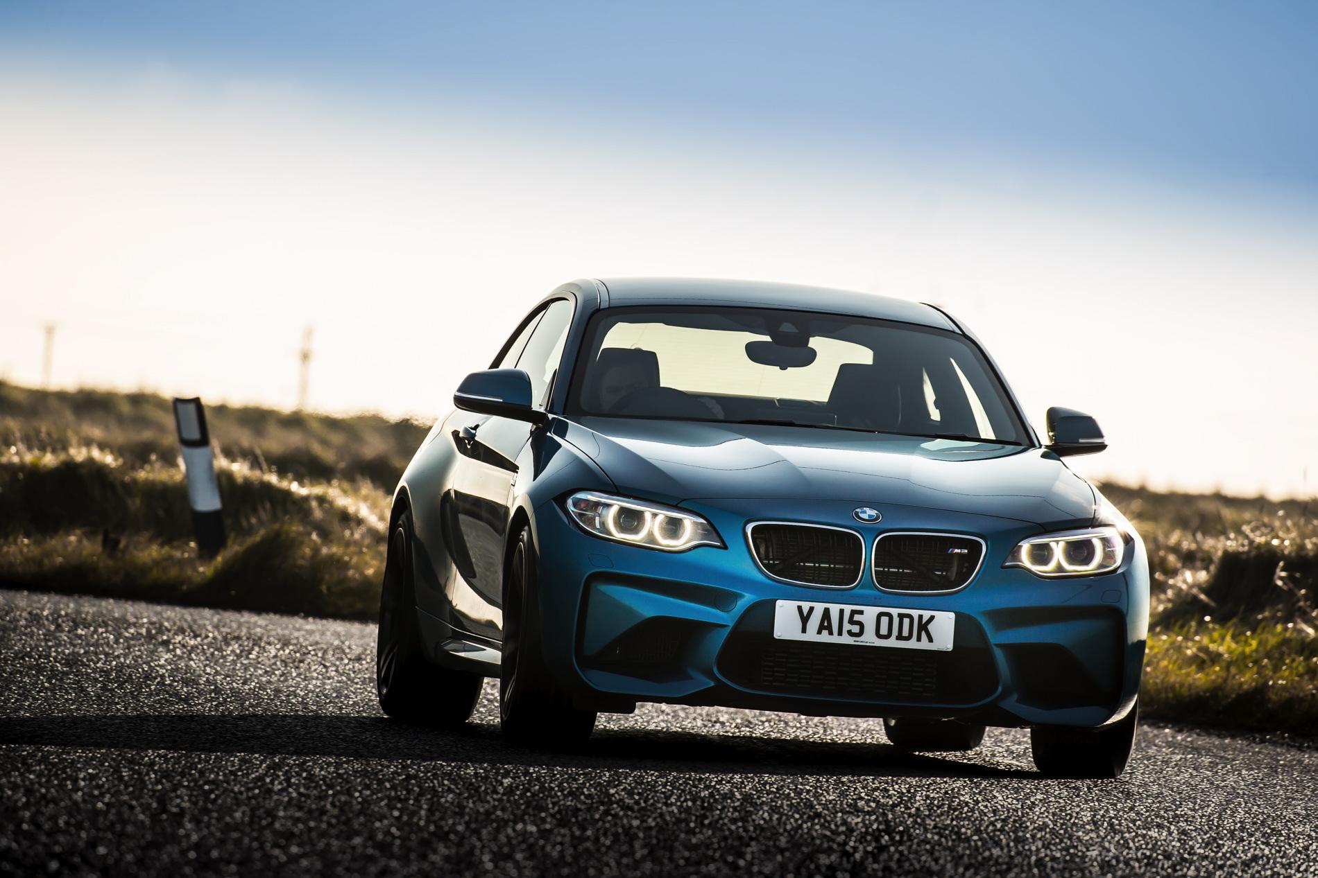 BMW M2 UK launch exterior 50