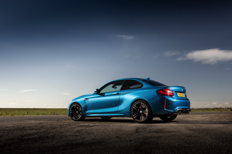 BMW M2 UK launch exterior 54 750x500