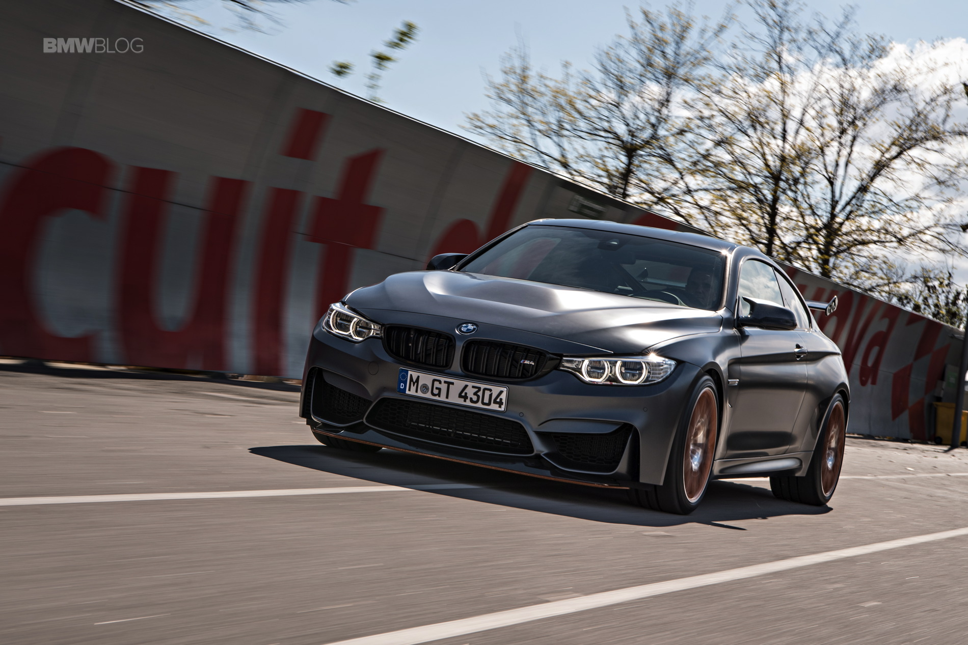 BMW M4 GTS test drive review 130