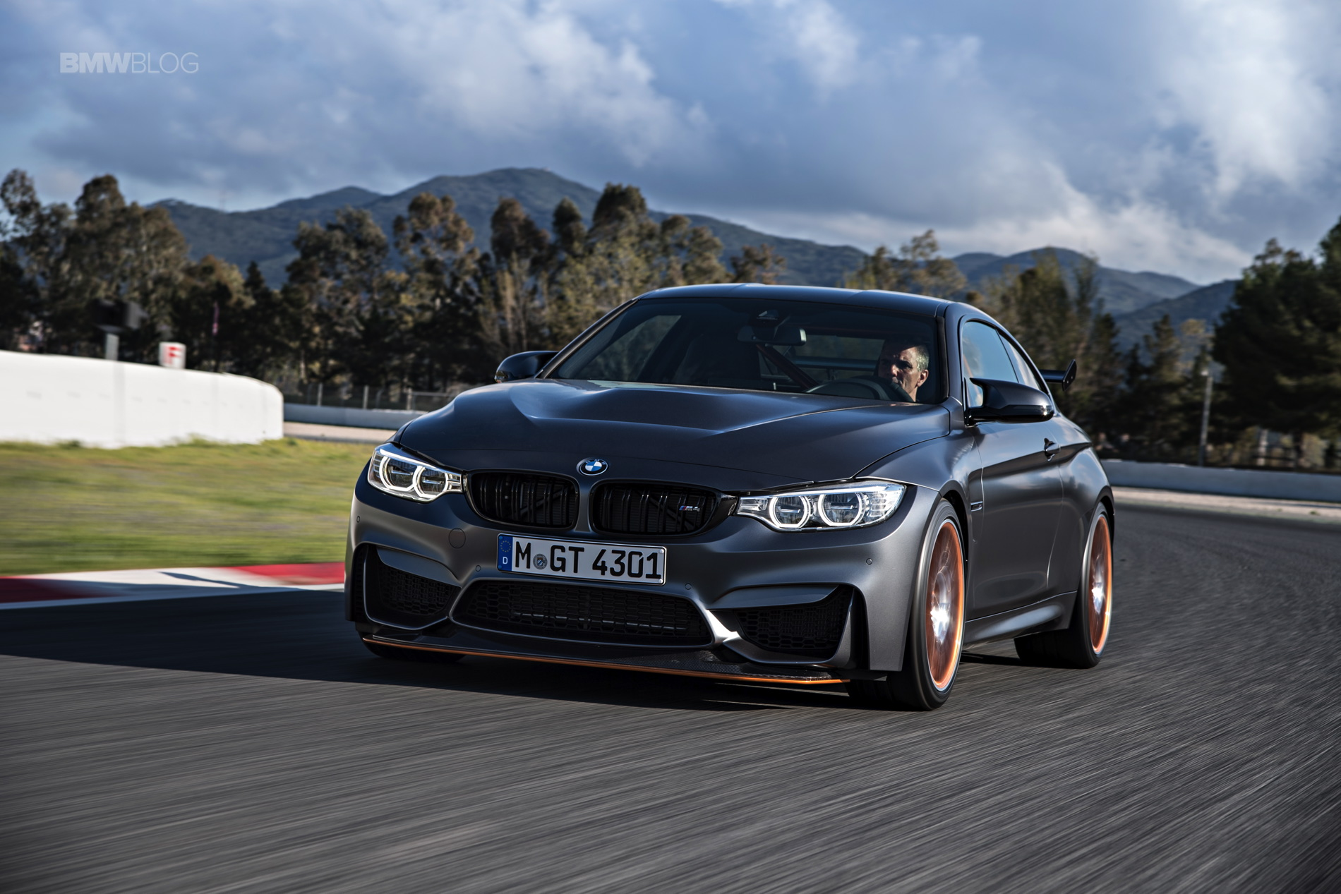 BMW M4 GTS test drive review 136