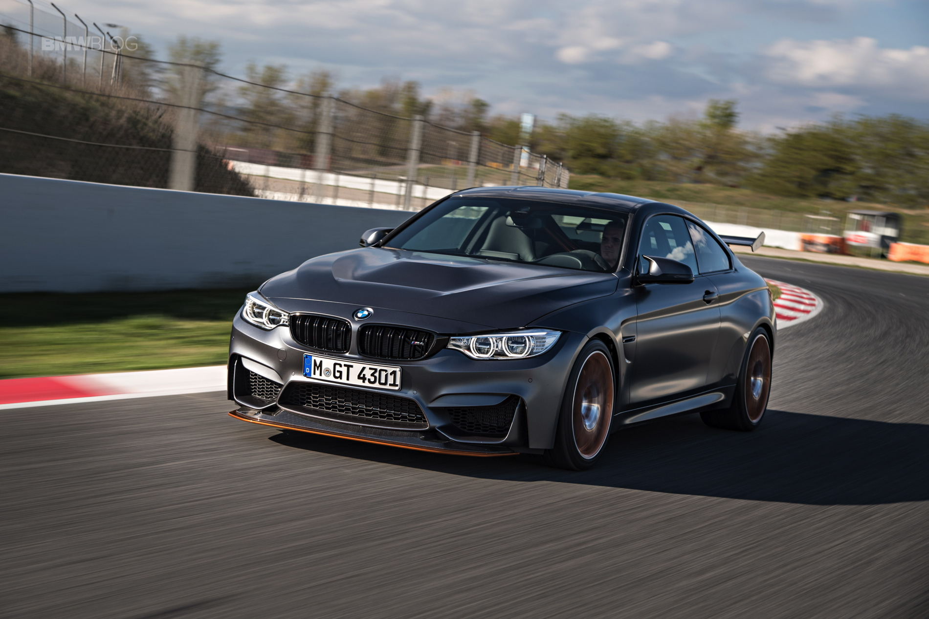 BMW M4 GTS test drive review 140