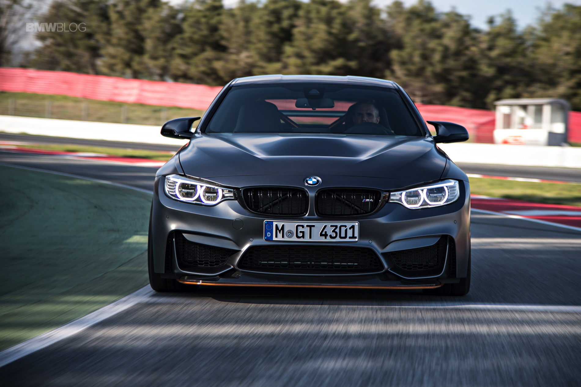 BMW M4 GTS test drive review 150