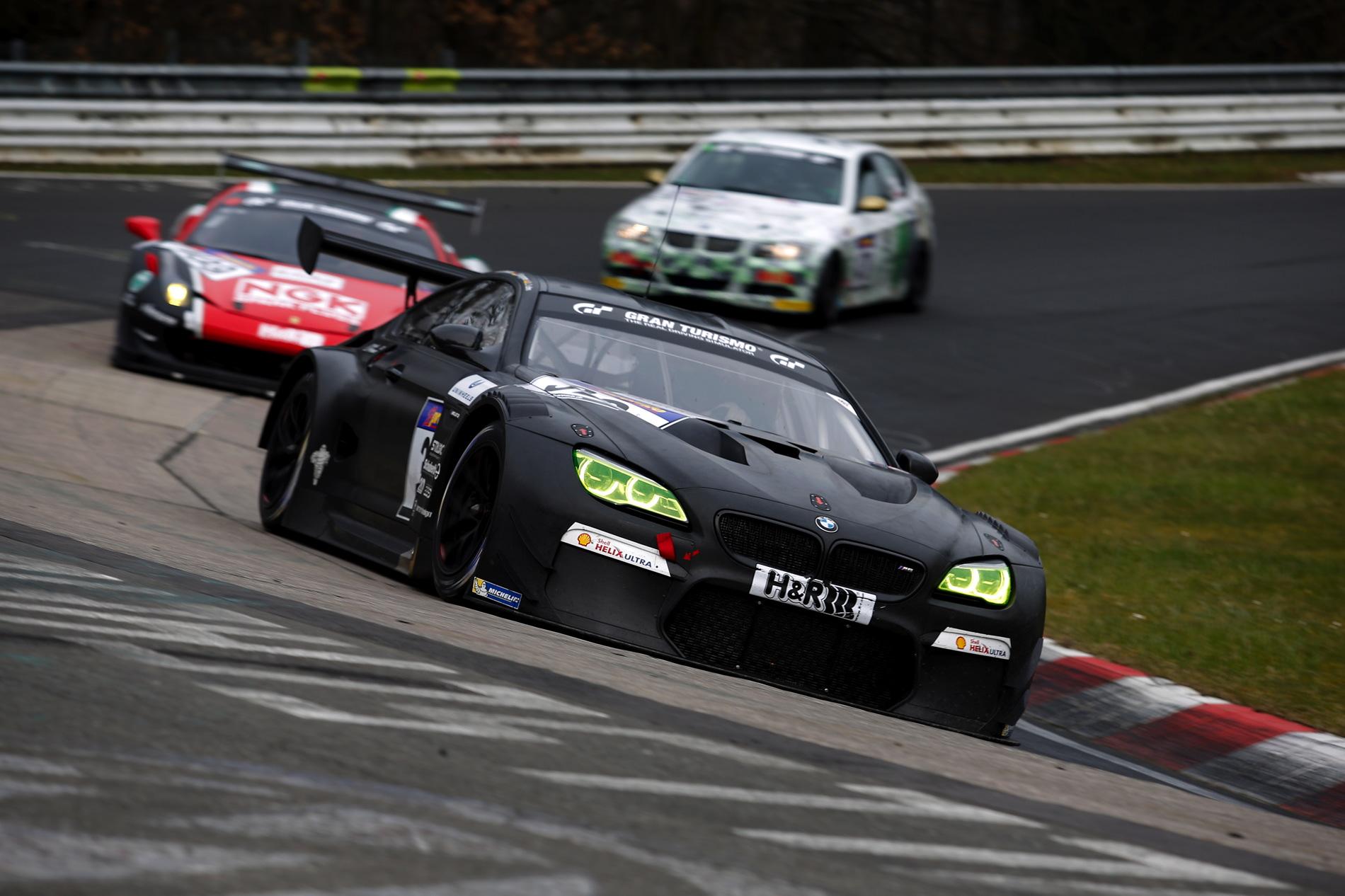 BMW M6 GT3 Nurburgring 11