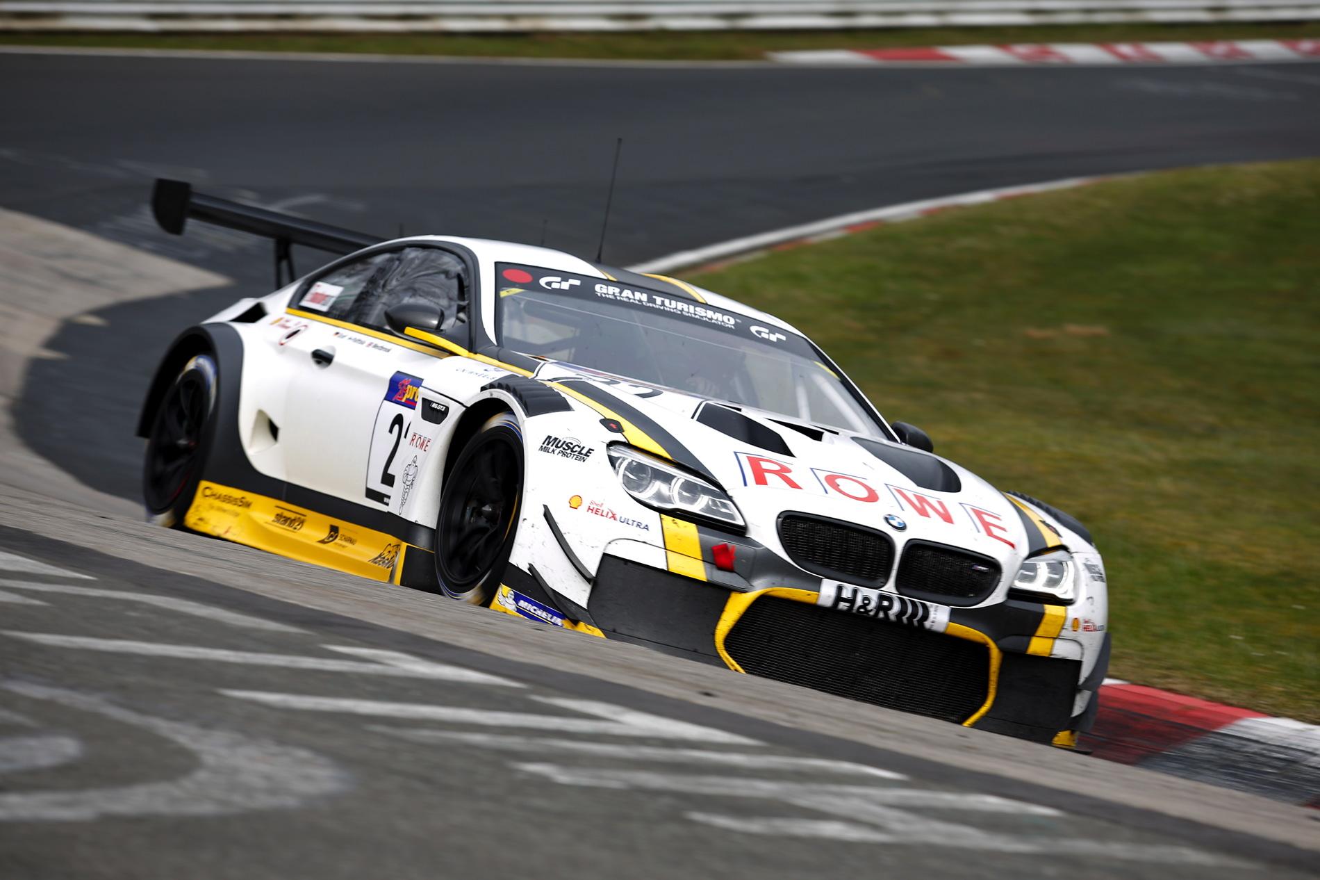 BMW M6 GT3 Nurburgring 12