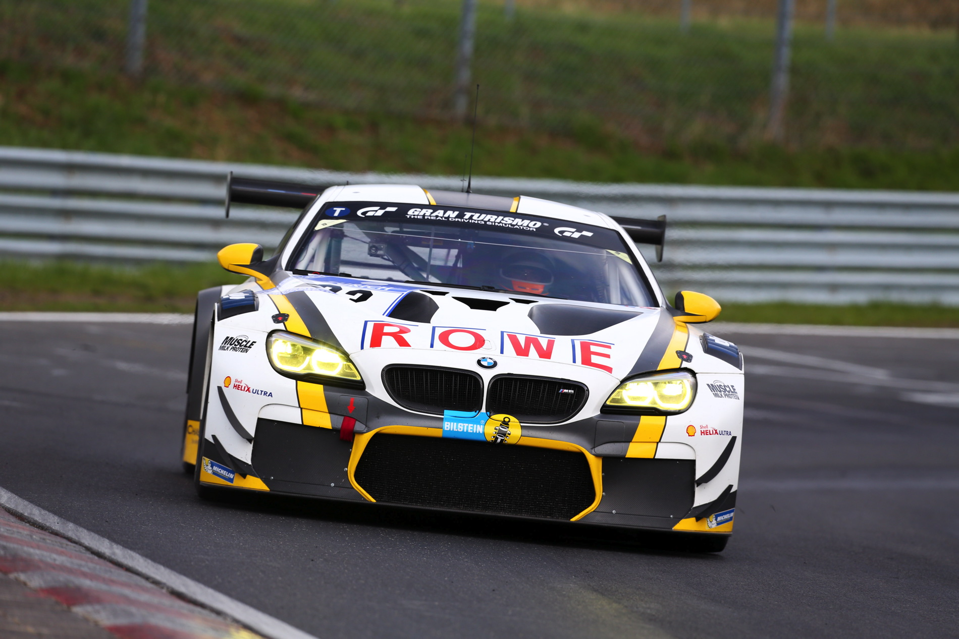 First Podium For The New Bmw M6 Gt3 On The N 252 Rburgring
