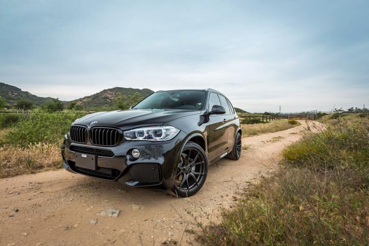 BMW X5 On Vorsteiner V FF 103 Wheels 3 750x500