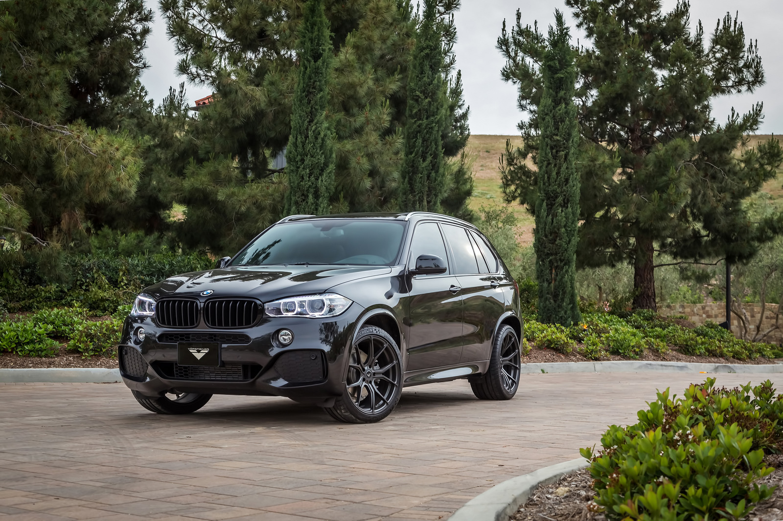 BMW X5 On Vorsteiner V FF 103 Wheels 5