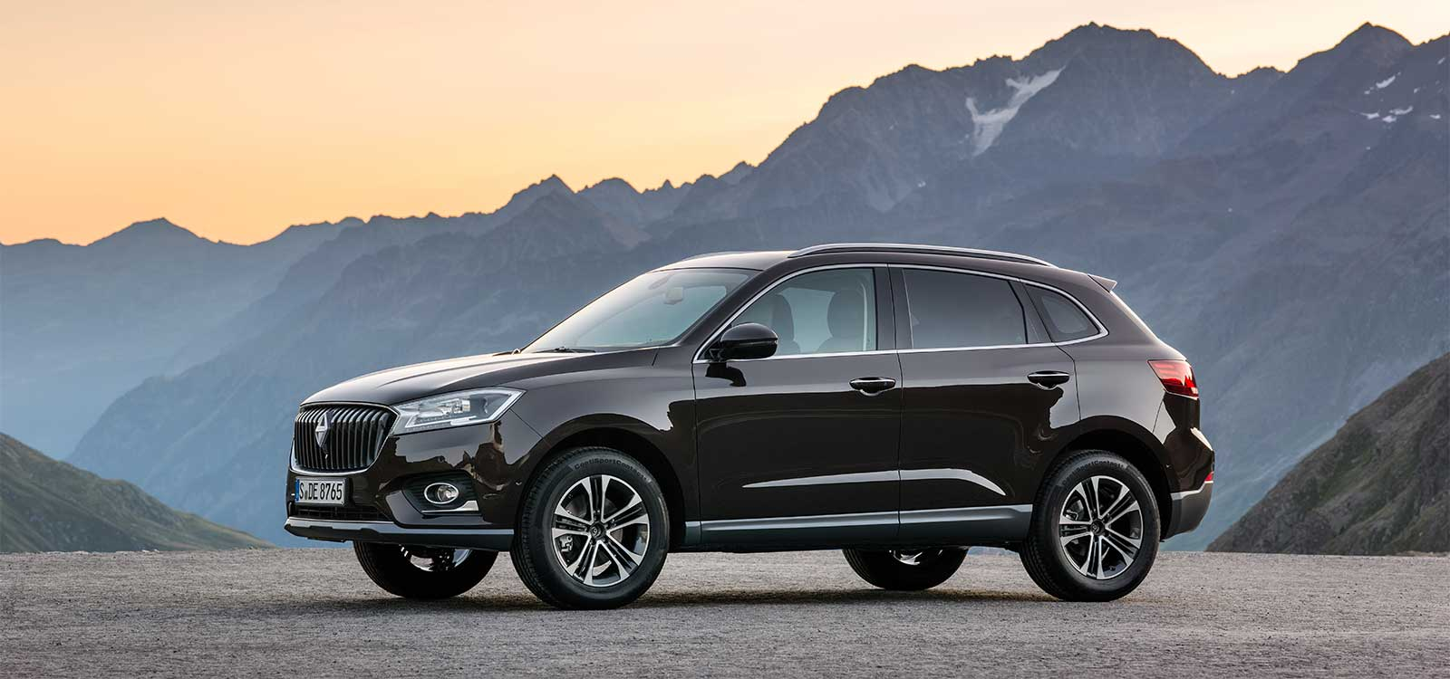 Borgward Bx7 A Combination Between Bmw X3 And Audi Q5