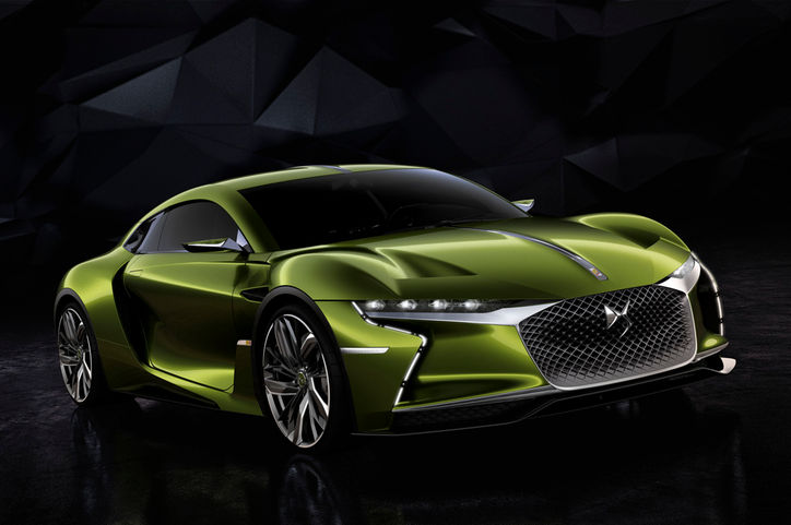 DS E Tense Concept Front Three Quarters