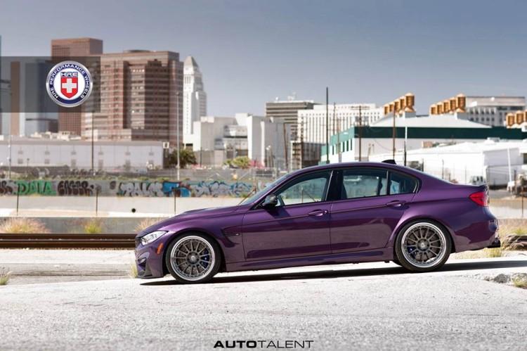 Daytona Violet BMW M3 F80 1 750x499