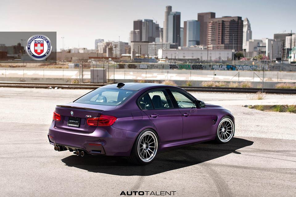 Daytona Violet BMW M3 F80 3