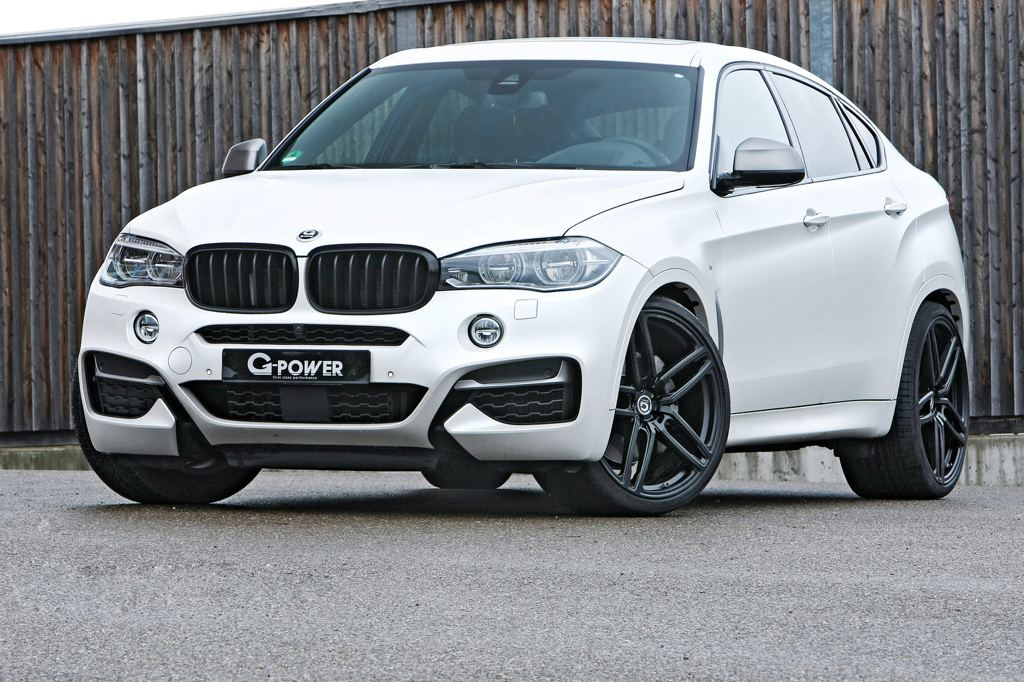 G Power Bmw X6 M50d Makes 450 Horsepower