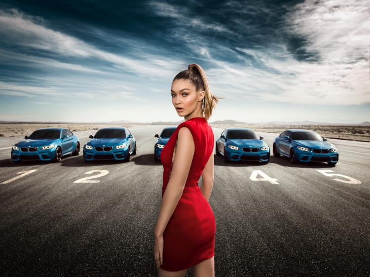 Gigi Hadid BMW M2 2 750x563
