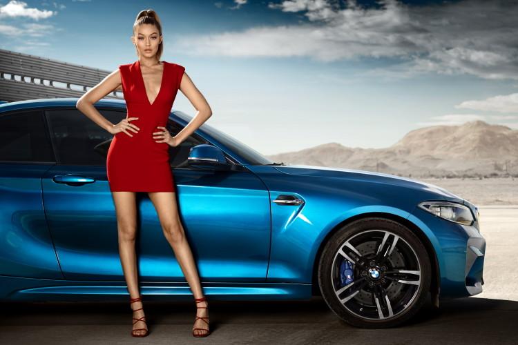 Gigi Hadid BMW M2 4 750x500