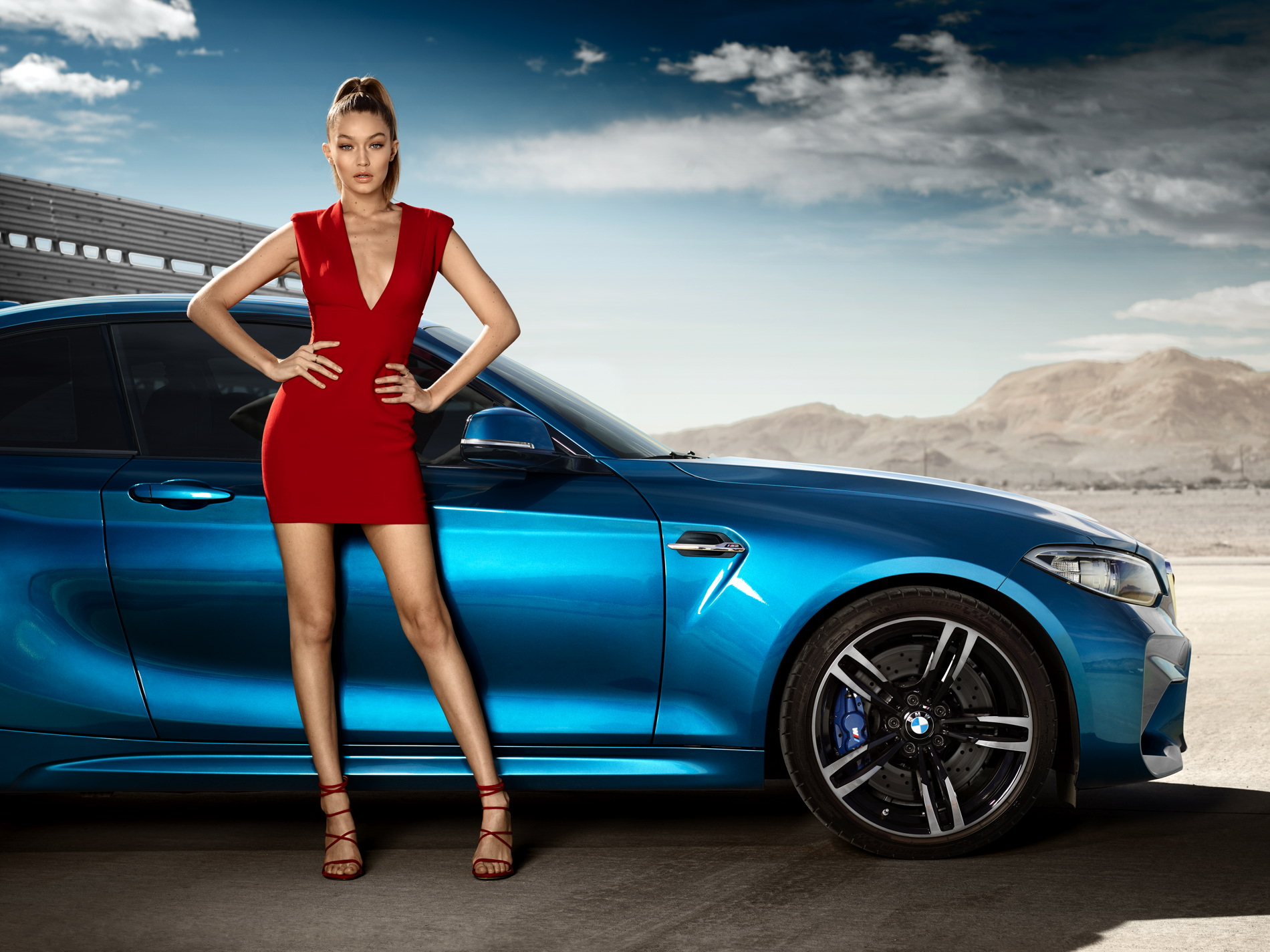 Eyes On Gigi Bmw Presents Interactive Campaign For New